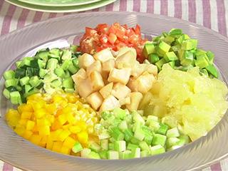 サラダ チョップド NY発のチョップドサラダ。使える具材が知りたい!