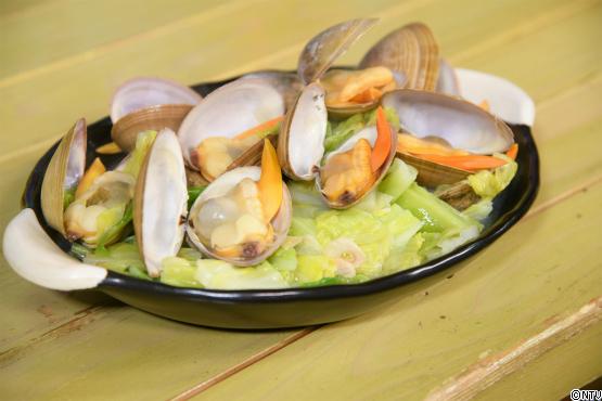 バカ貝の酒蒸し   レシピブログ   満天☆青空レストラン