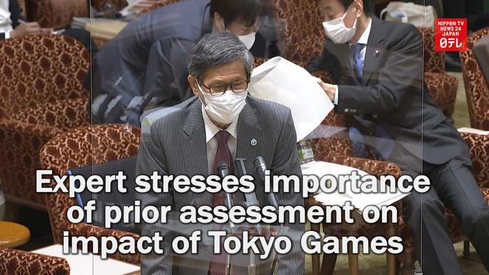 Japanese expert stresses importance of prior assessment on impact of Tokyo Games