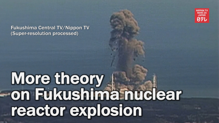 More theory on Fukushima nuclear reactor explosion