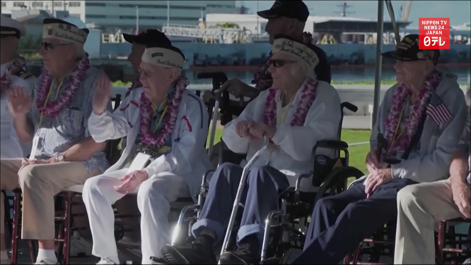 Ceremony honors 78th anniversary of Pearl Harbor attack