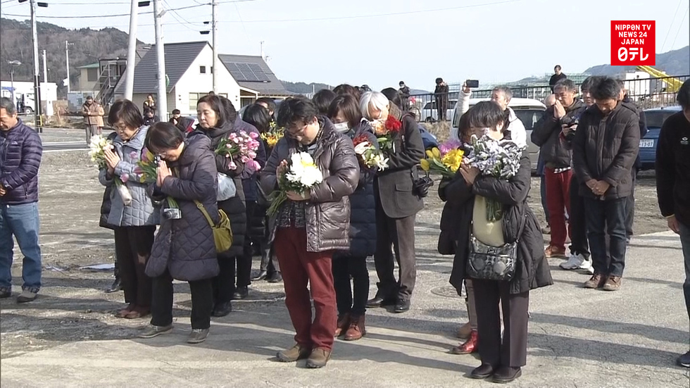 Japan marks 7th anniversary since 3/11 disasters