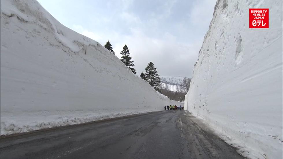 Snow corridor open for 2 days