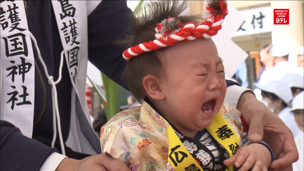 Babies cry for well-being