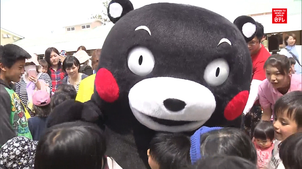 Kumamon back in action