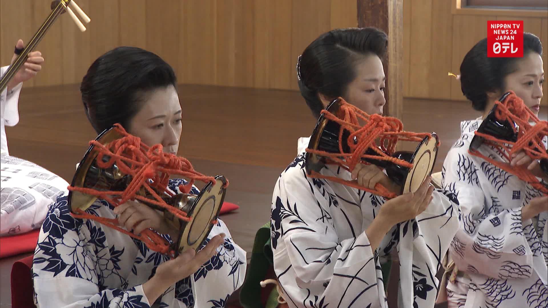 Kanazawa geisha training