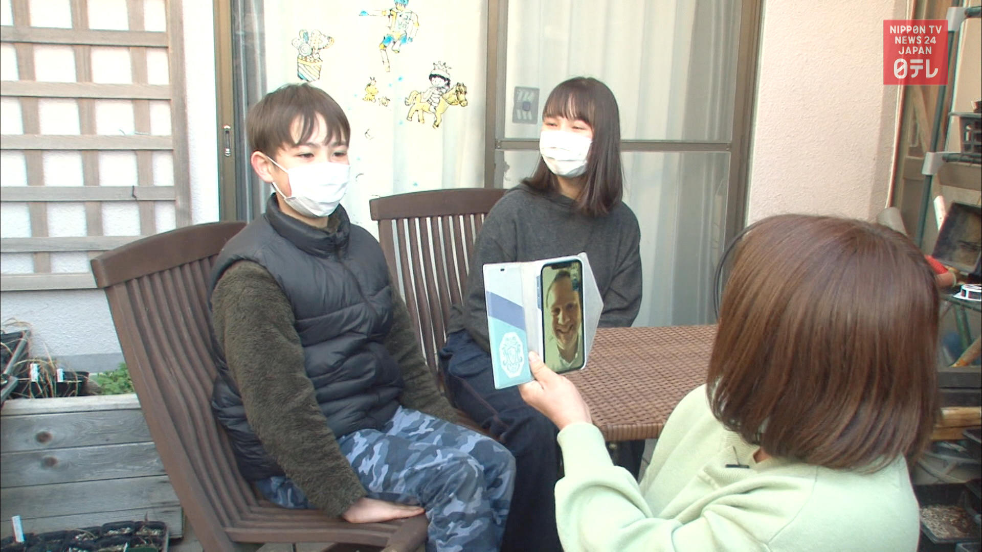 Scottish gardner unable to reunite with family in Japan amid pandemic