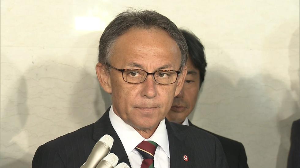 Land Minister restarts Futenma base relocation