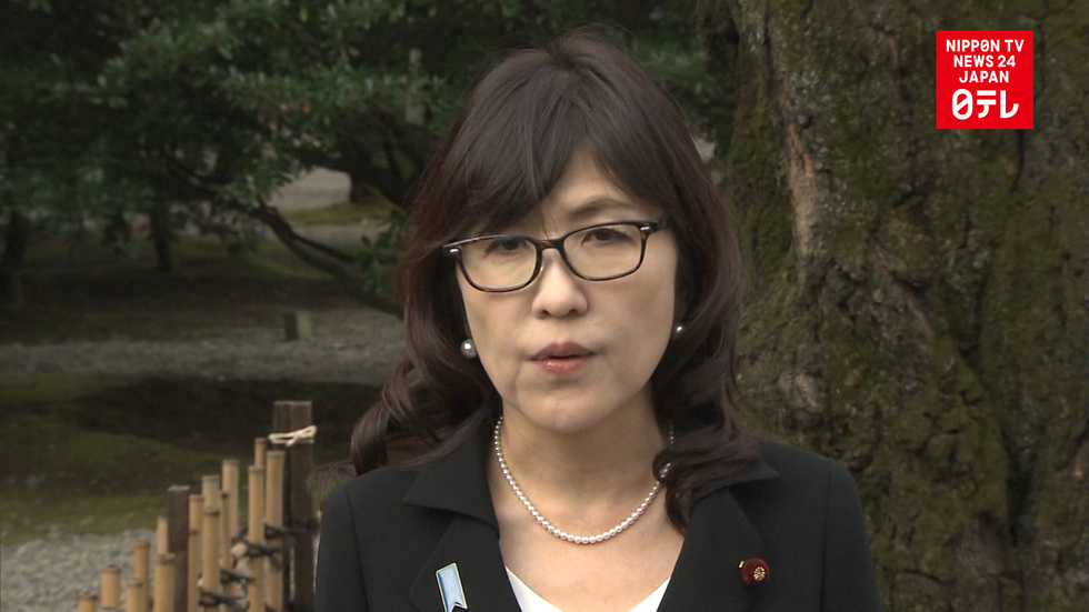 Japanese defense minister visits Yasukuni Shrine