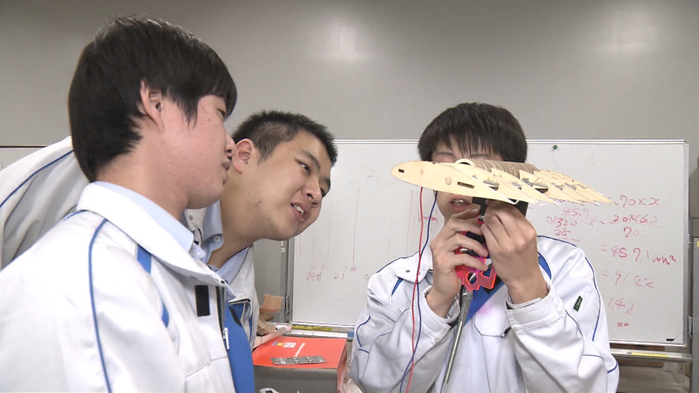 Teenagers aim for Mars