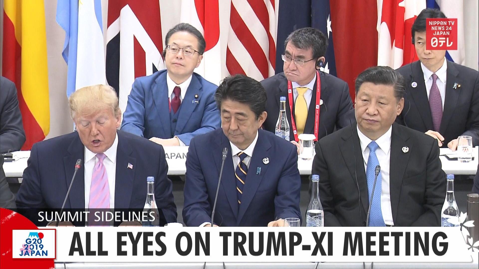 G20: All eyes on Trump-Xi meeting