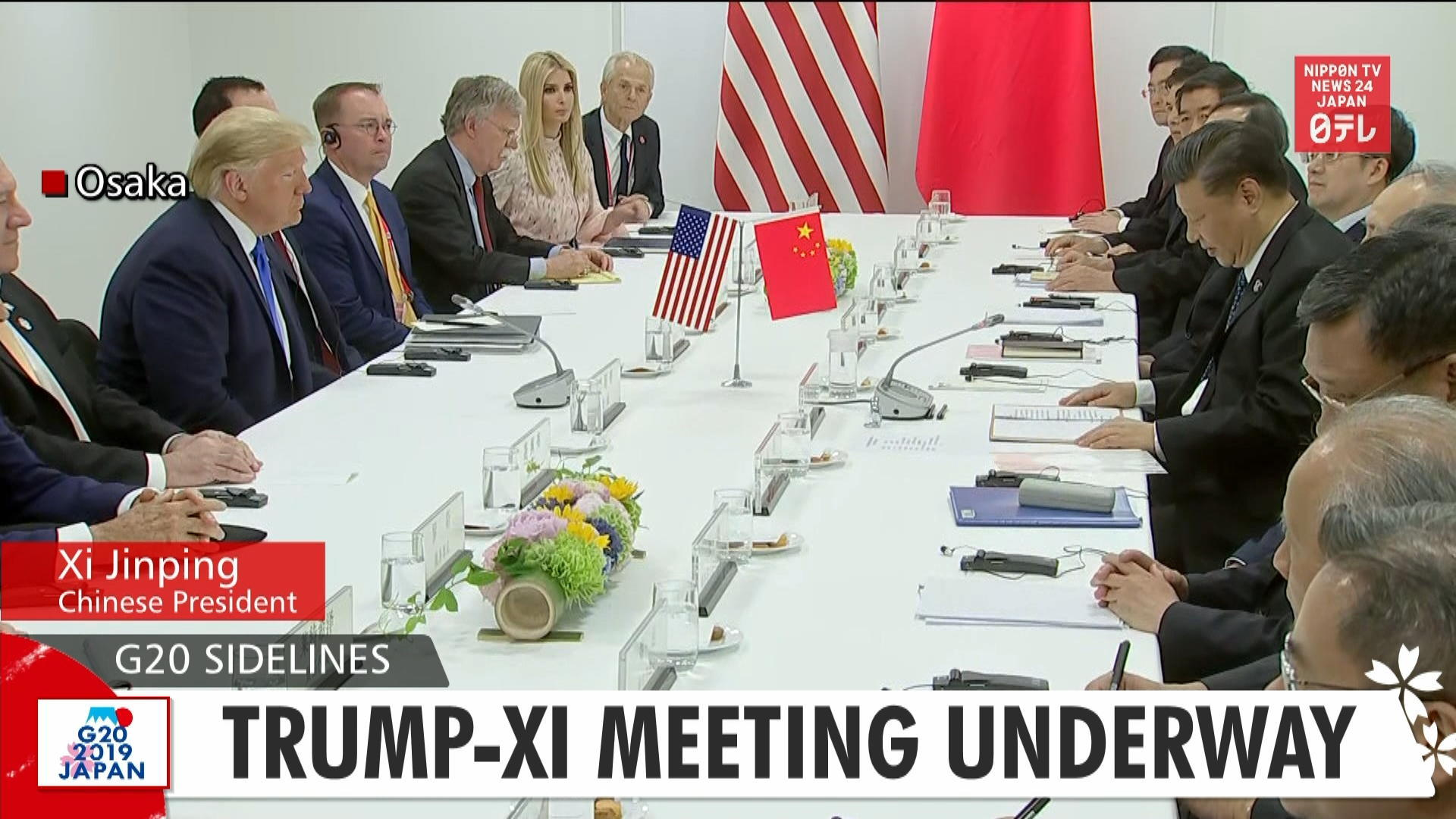 G20: Trump-Xi meeting underway