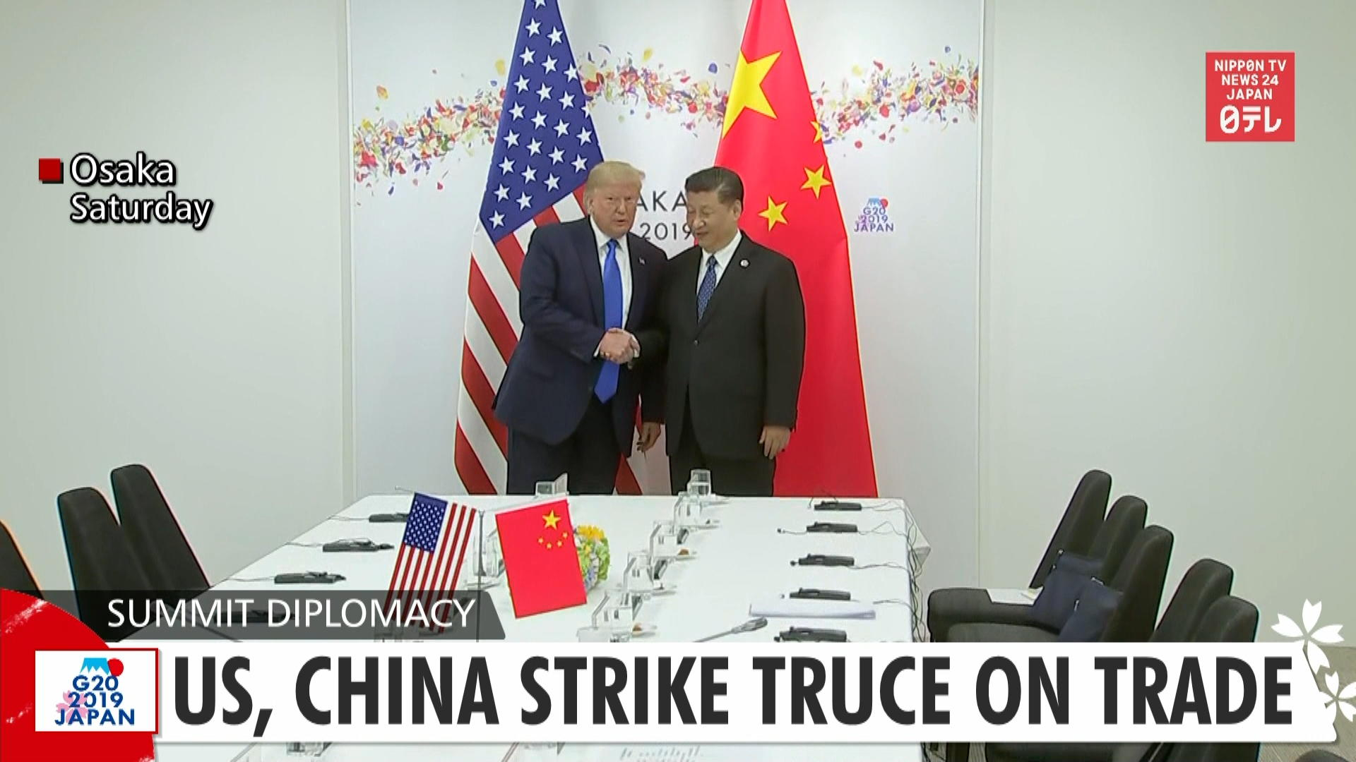 G20: US, China strike truce on trade