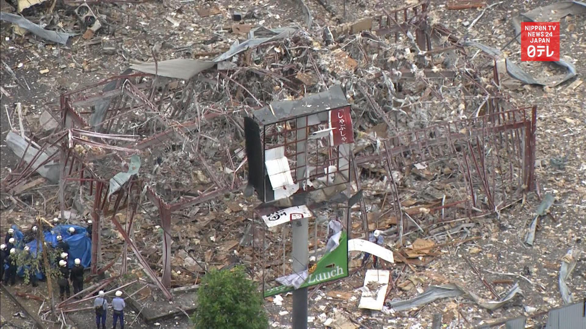 1 dead, 18 hurt in Fukushima explosion