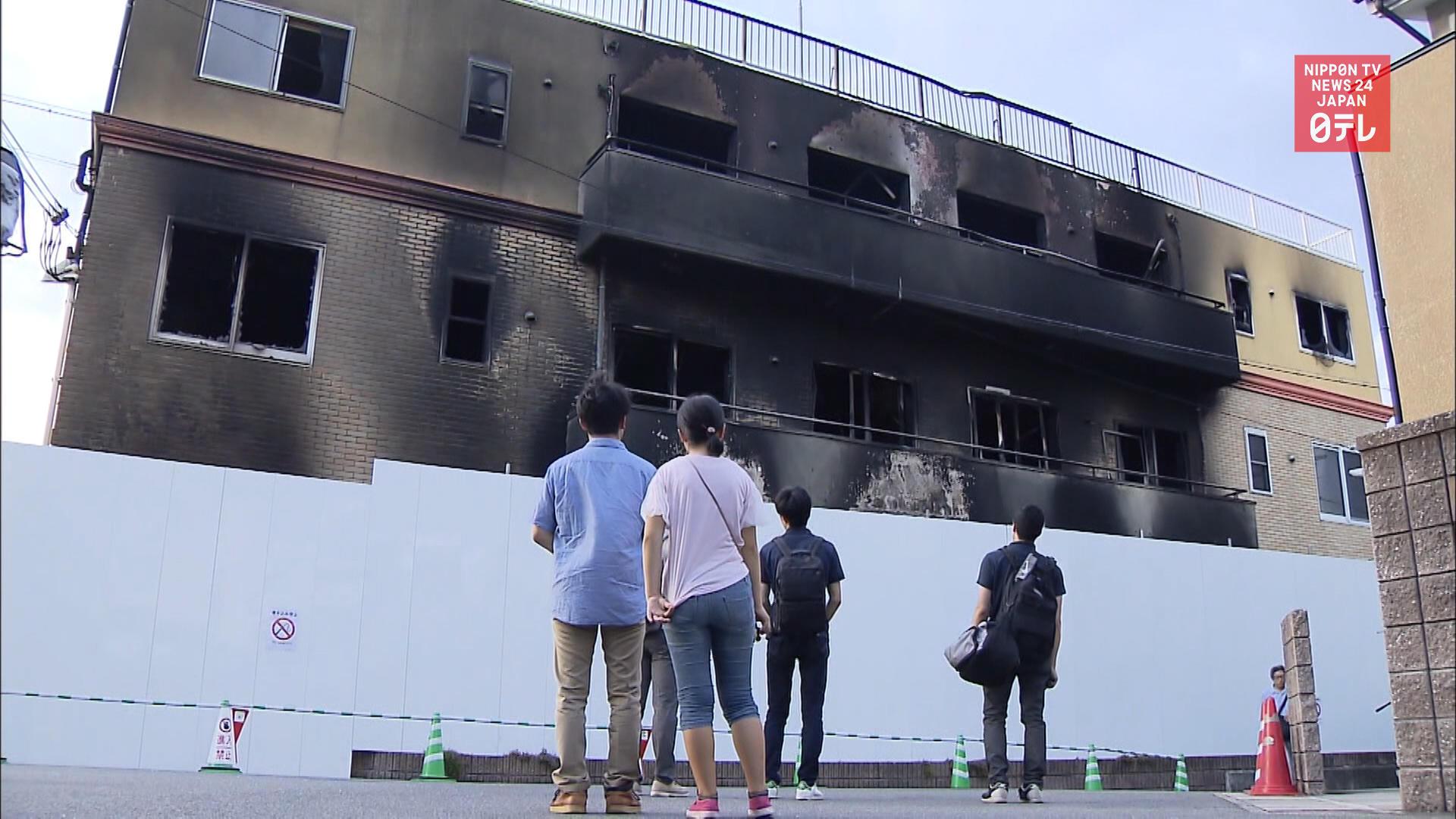 Kyoto Animation fire survivor tells story