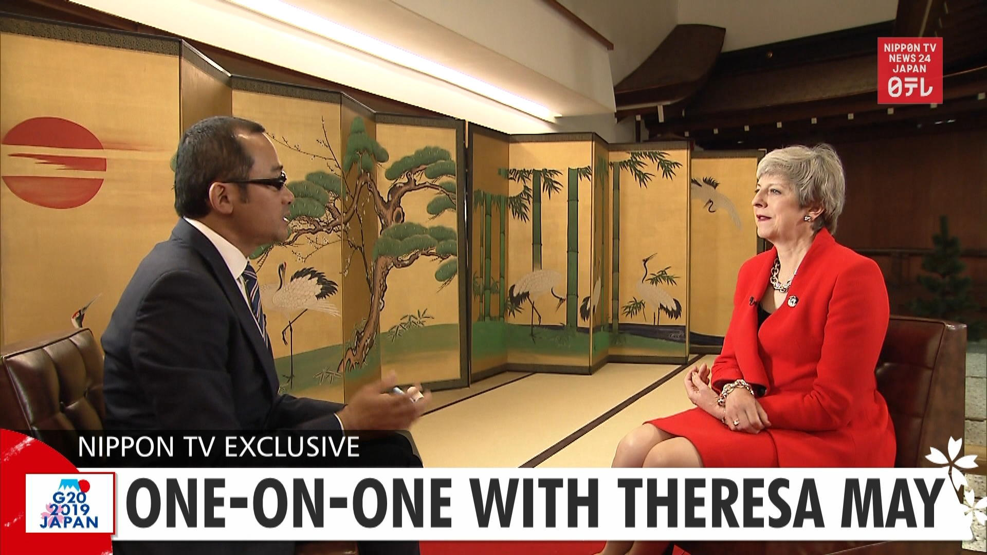 G20: Exclusive interview with Theresa May