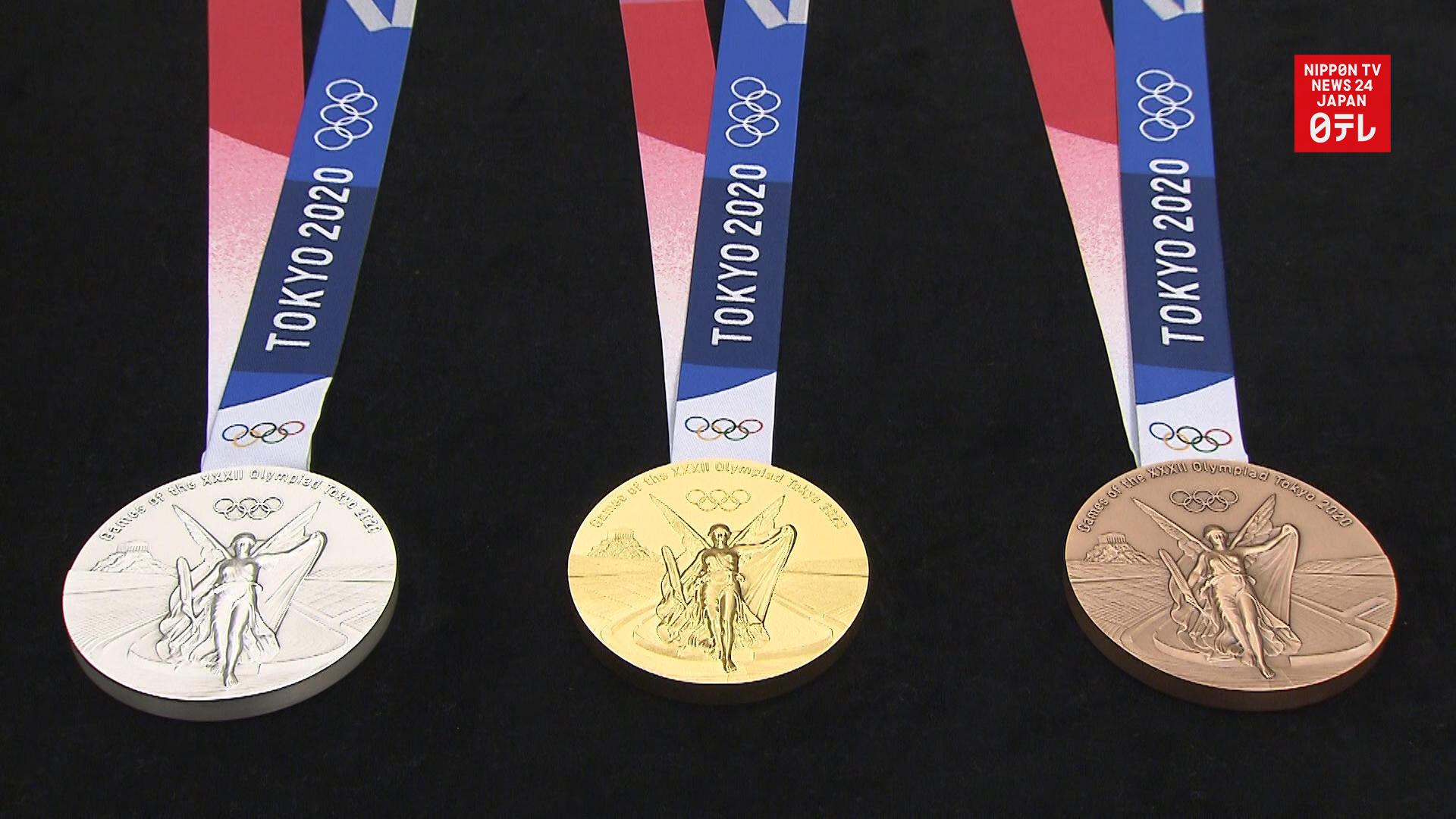 Tokyo Olympic medals, countdown clock unveiled