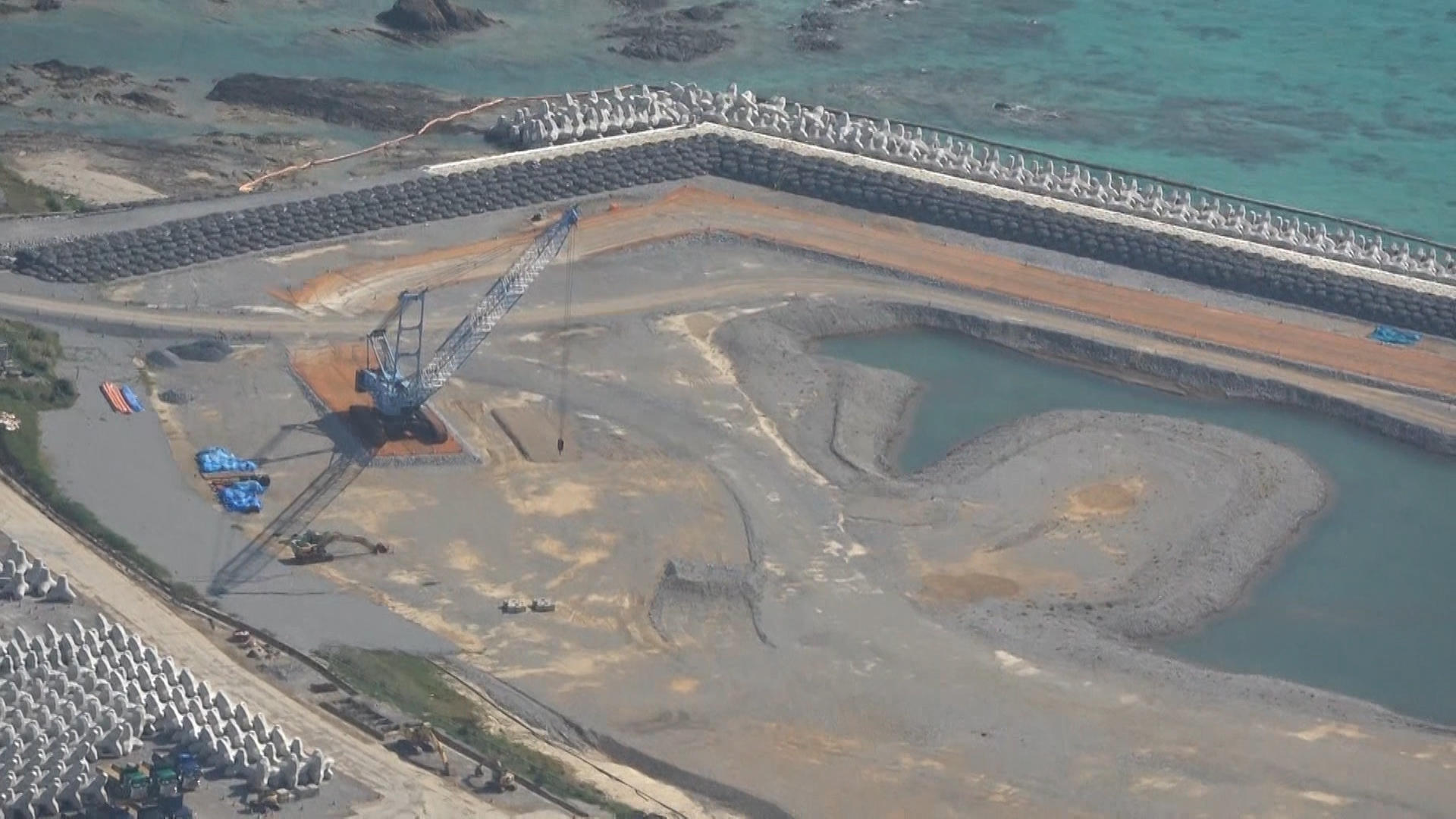 Construction on US base relocation in Okinawa suspended due to coronavirus infection