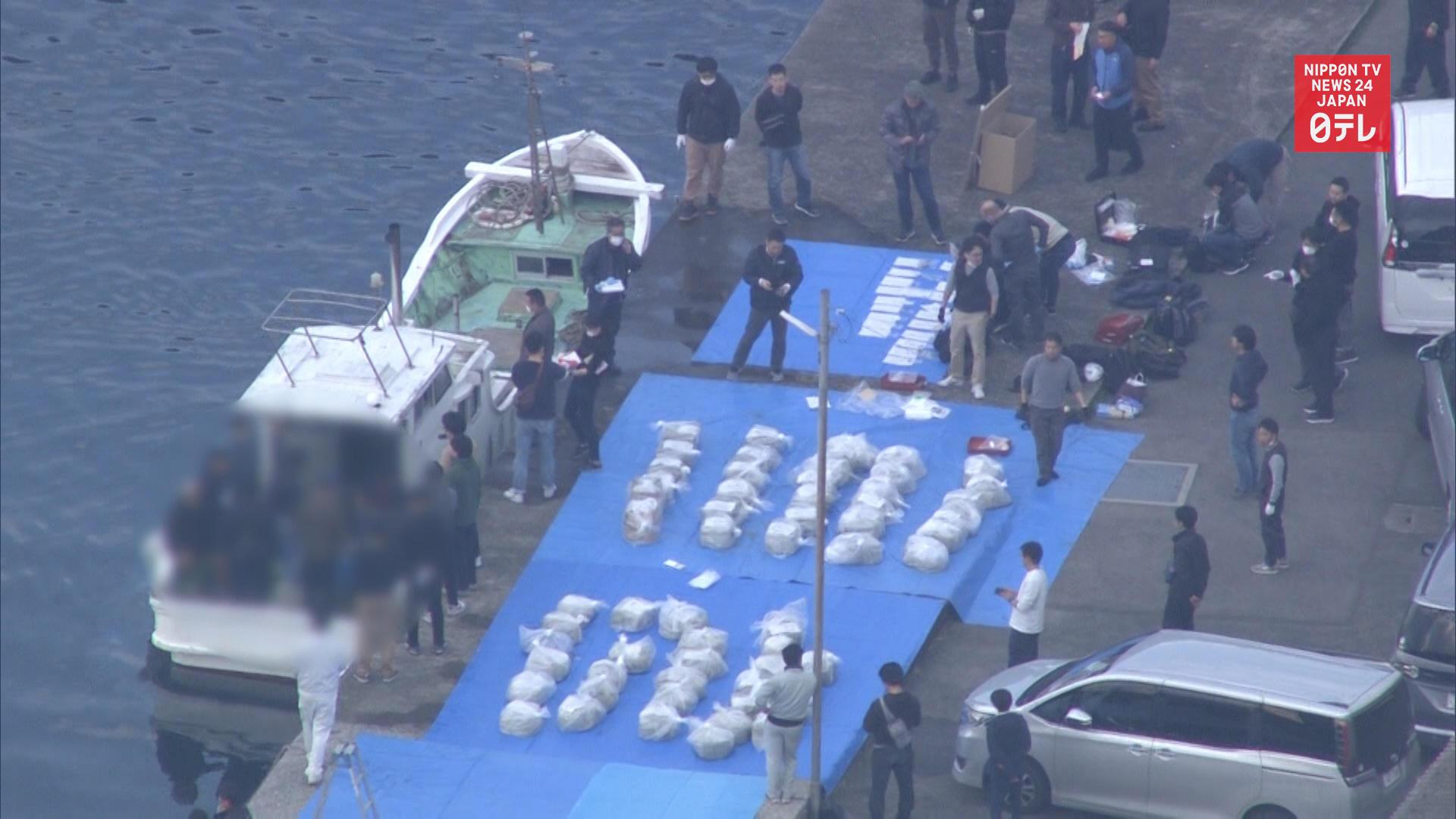 3 nabbed for smuggling 600 kg of stimulants