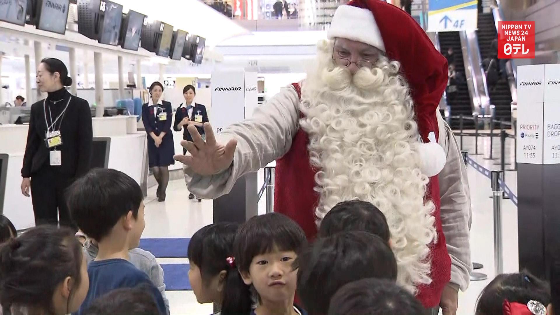 Santa comes to Japan