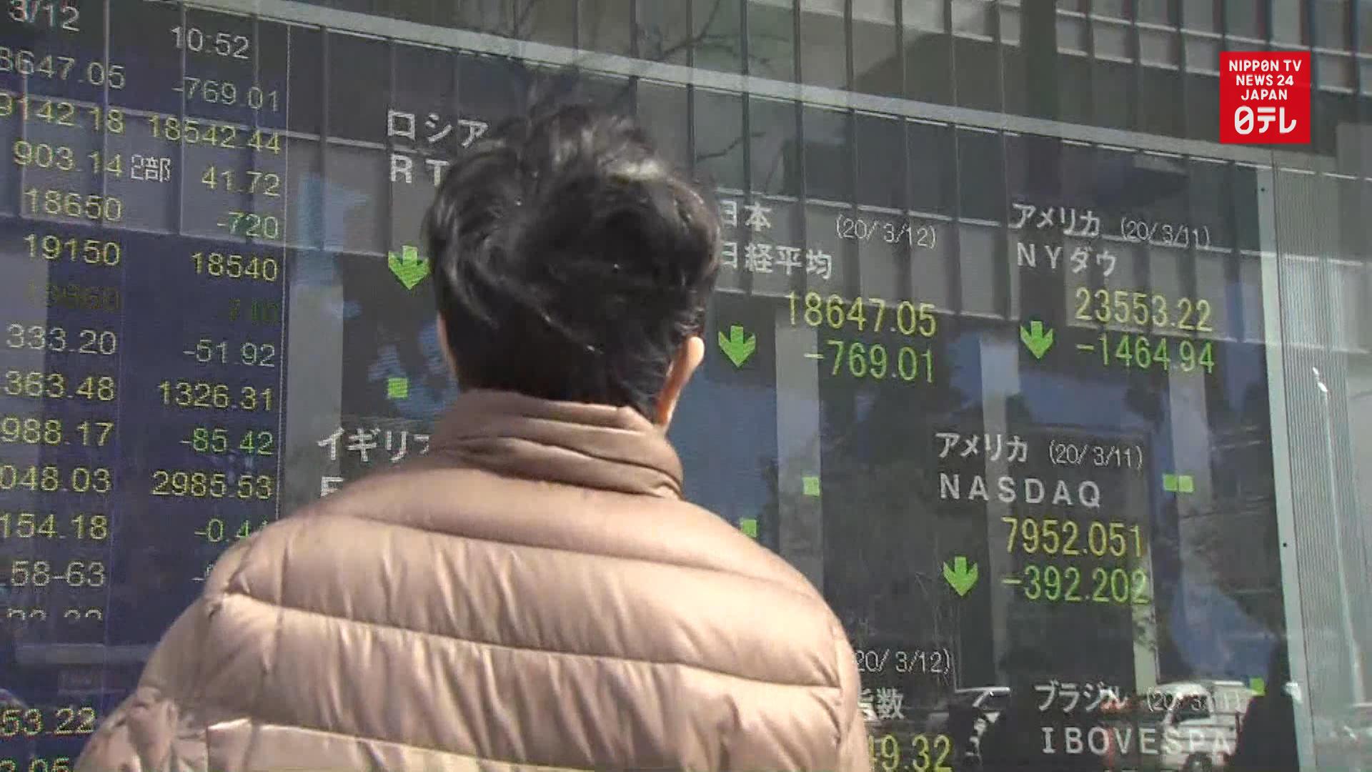 Abe, BOJ gov. Kuroda talk COVID-19 economic impact