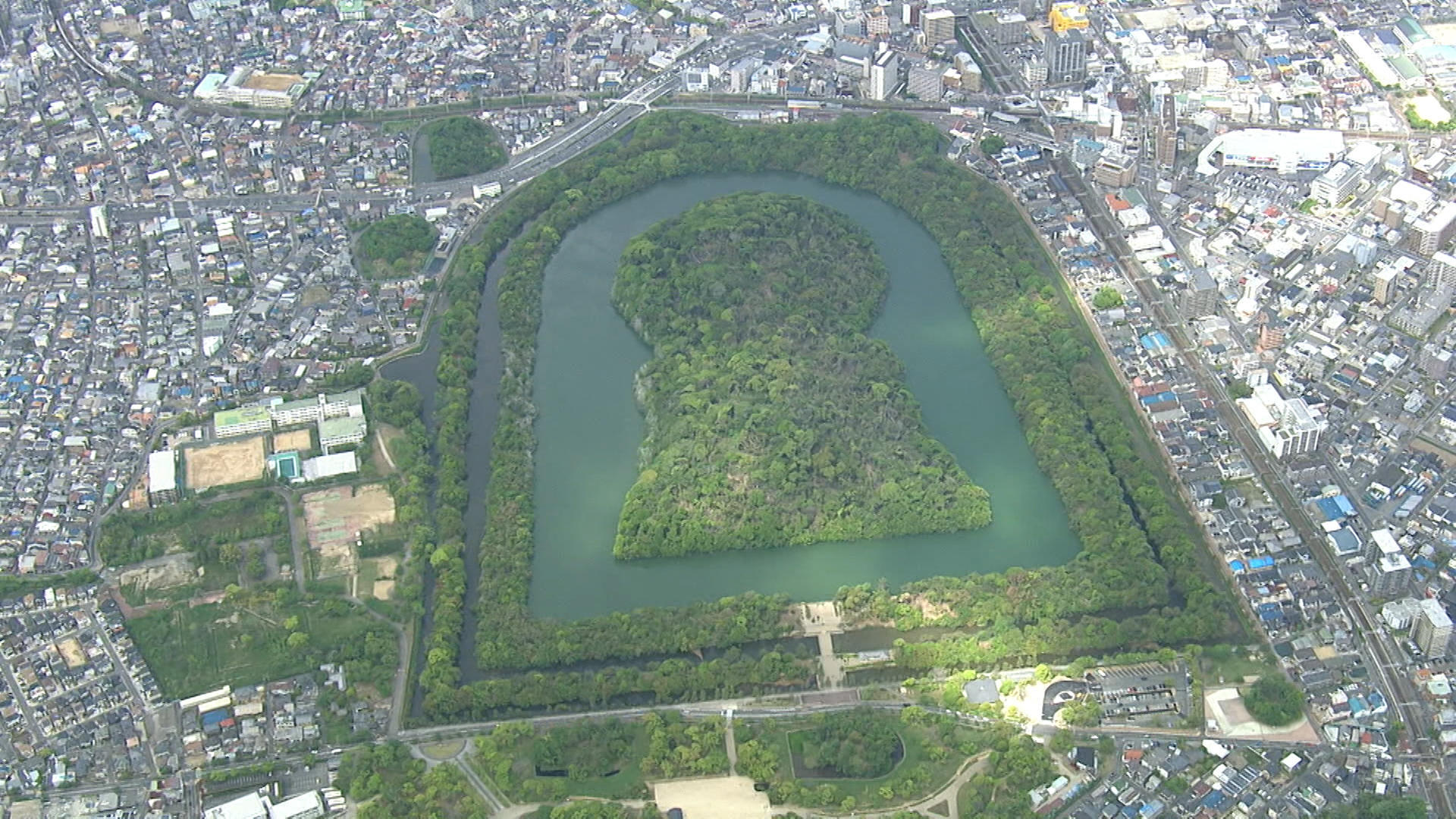 Osaka's Imperial tombs