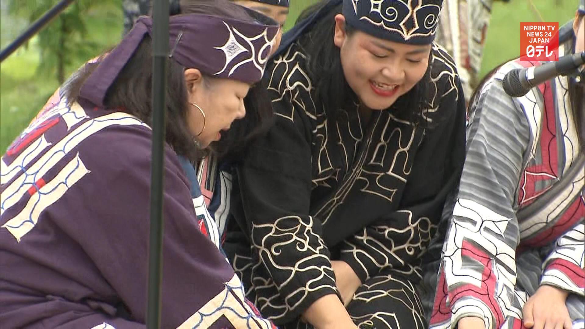 Ainu museum opens following coronavirus delay