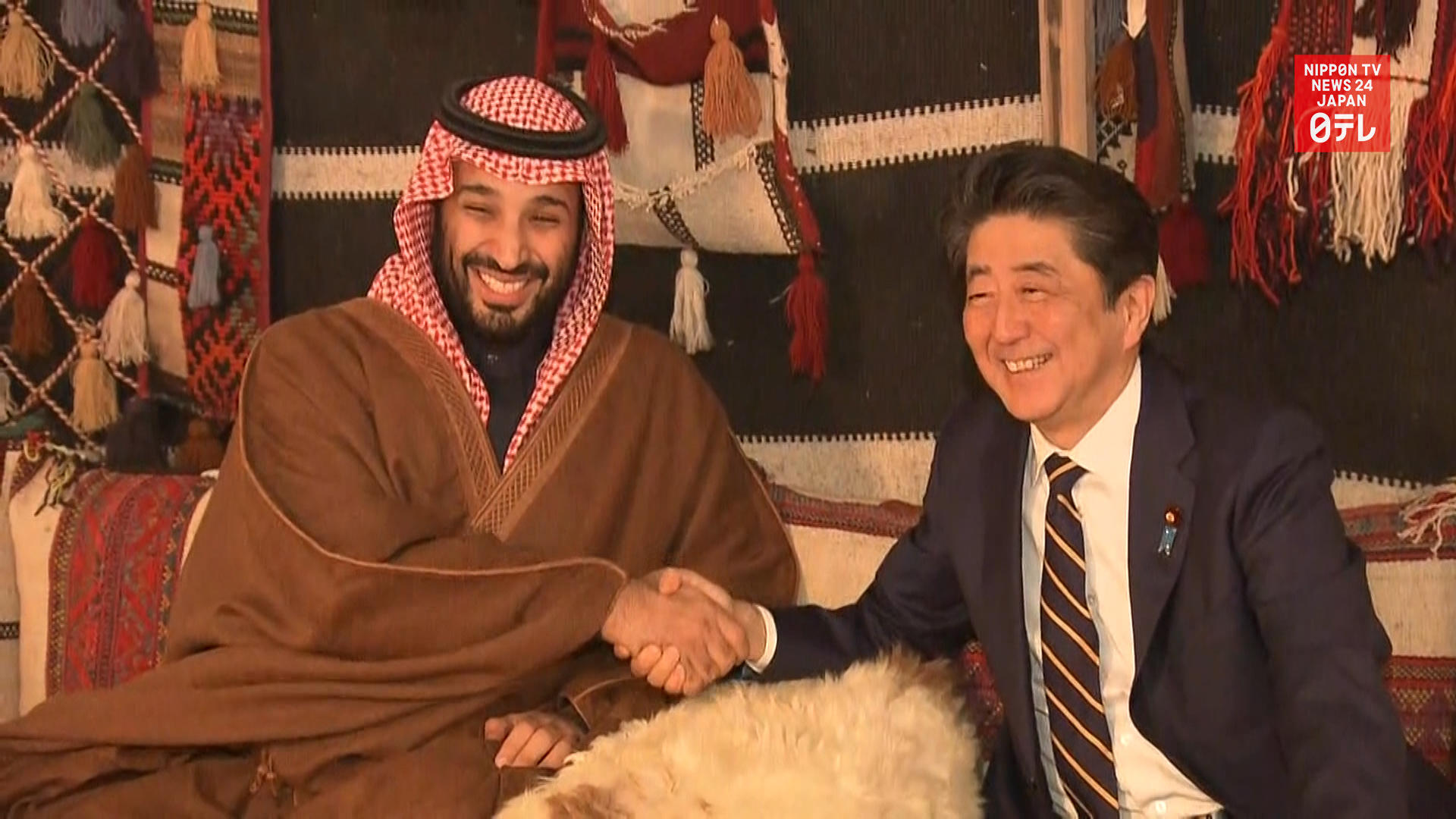 PM Abe seeks Saudi, UAE help for Mideast stability