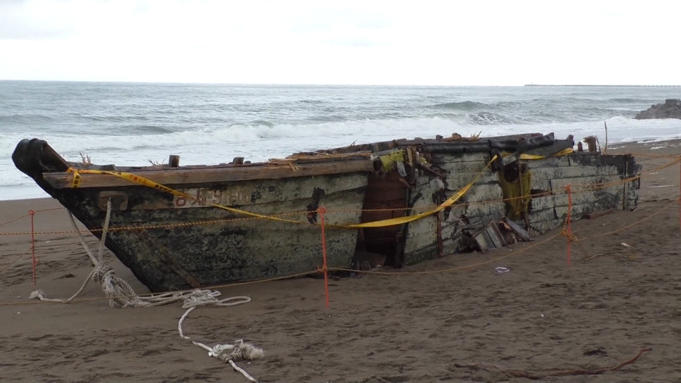 Ghost boats haunt Japan