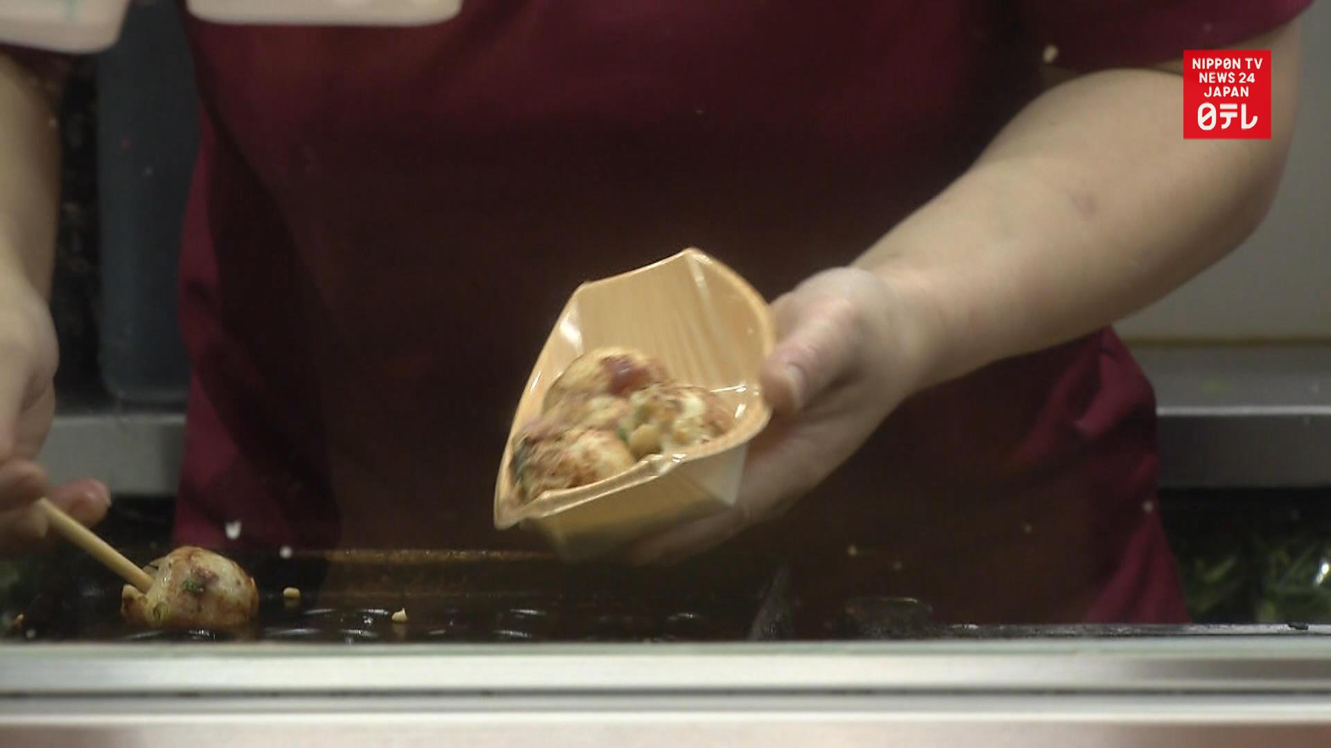 Osaka takoyaki spot hid $1.3 mil. in income