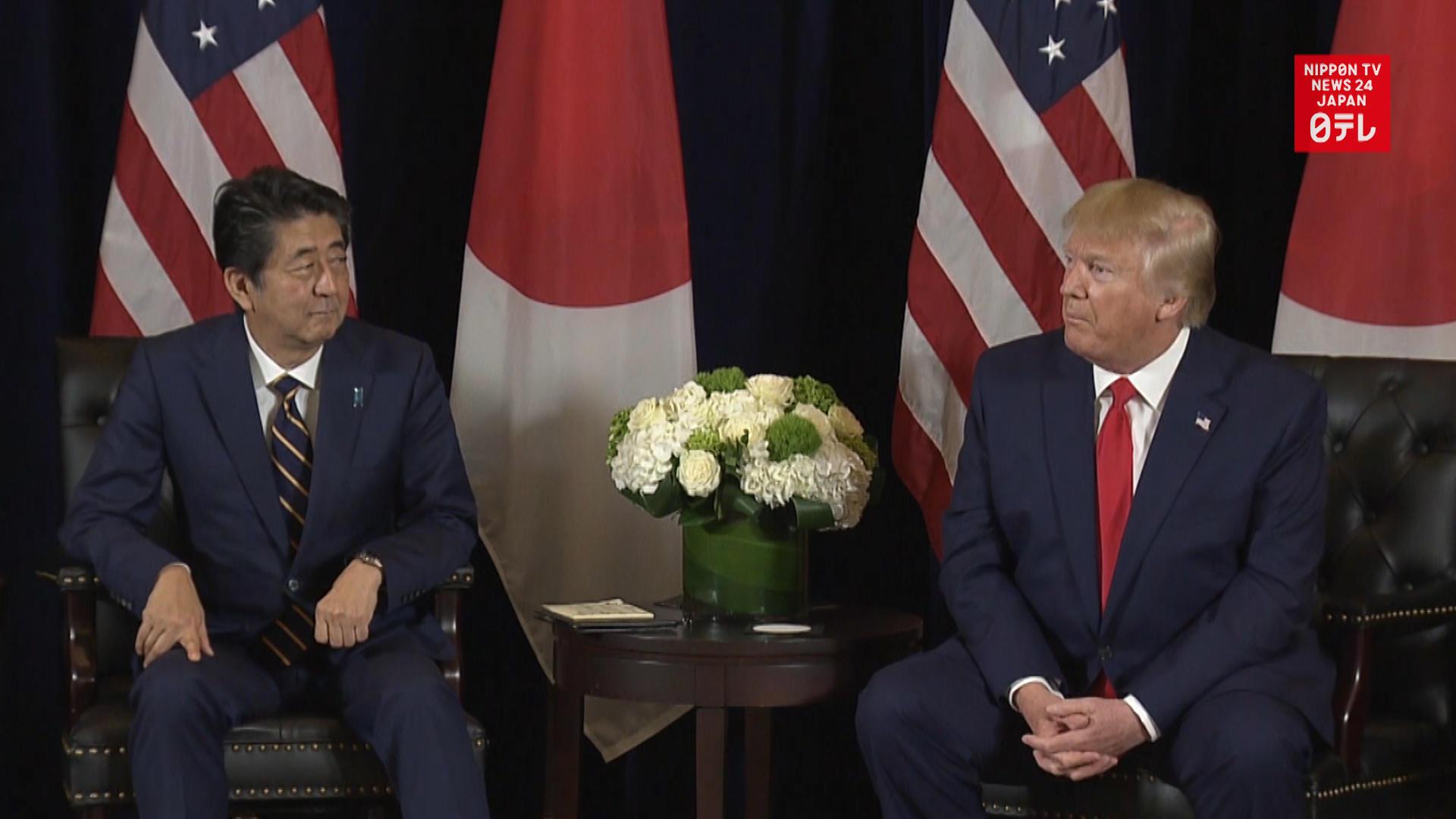 Abe, Trump talk coronavirus, impact on world economy