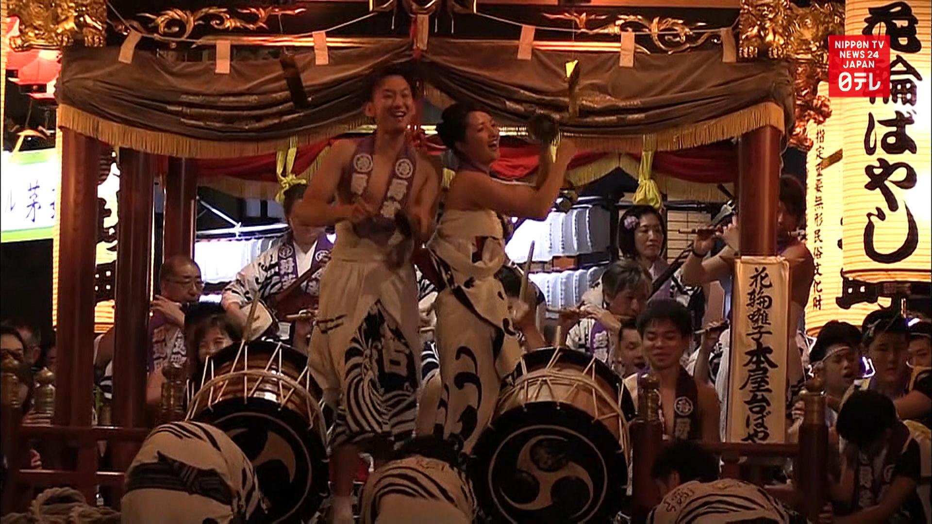 Hanawa Bayashi festival begins