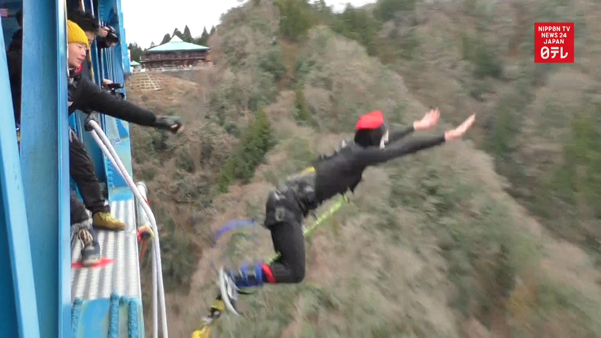Bungee jumping to adulthood
