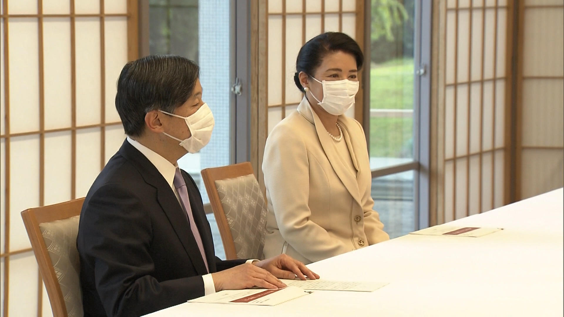 Japan's Emperor thanks medical workers on frontlines