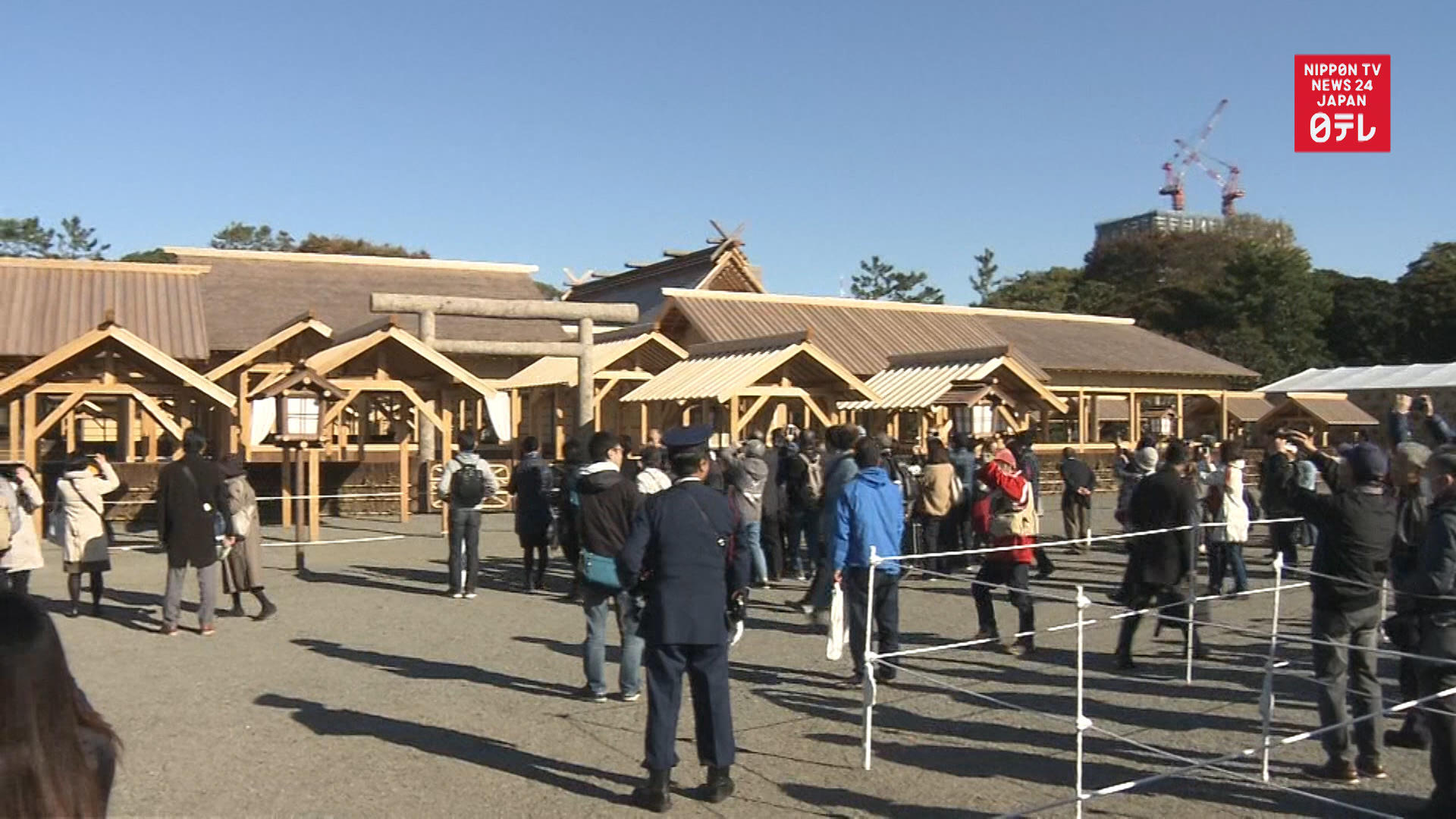Daijosai imperial succession rite venue open to public