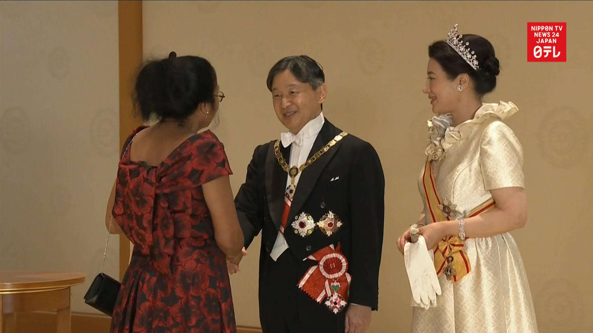 Banquet celebrates Emperor Naruhito's enthronement