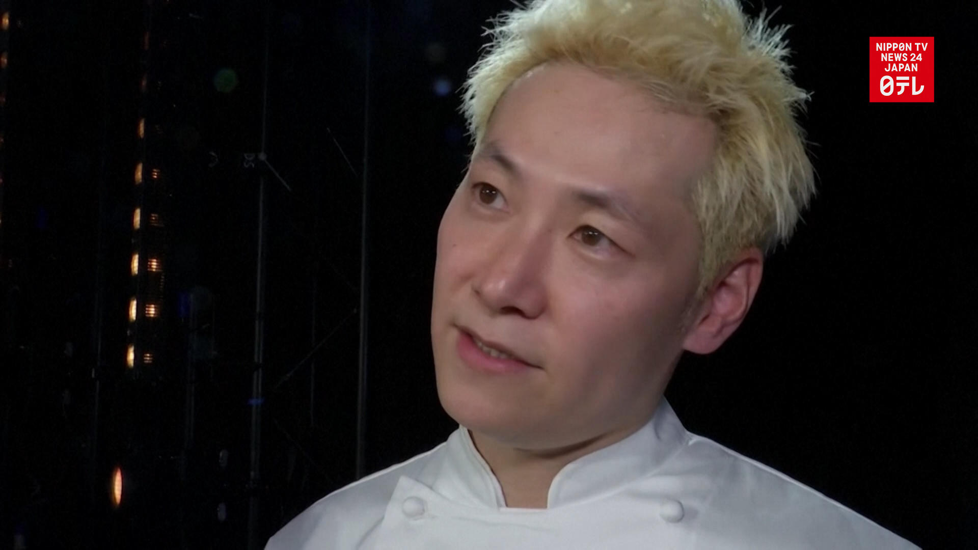 France's first Japanese 3-star Michelin chef