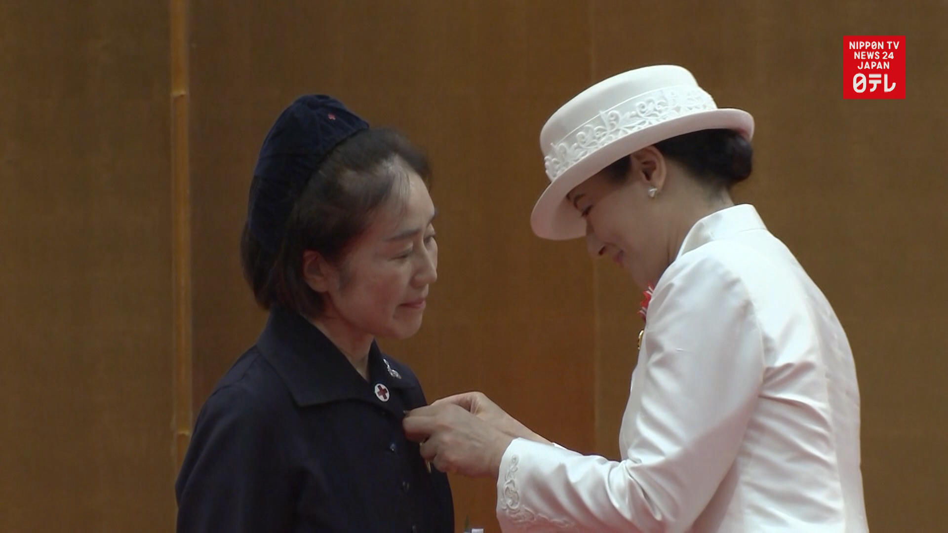 Empress Masako attends Nightingale Medal Ceremony