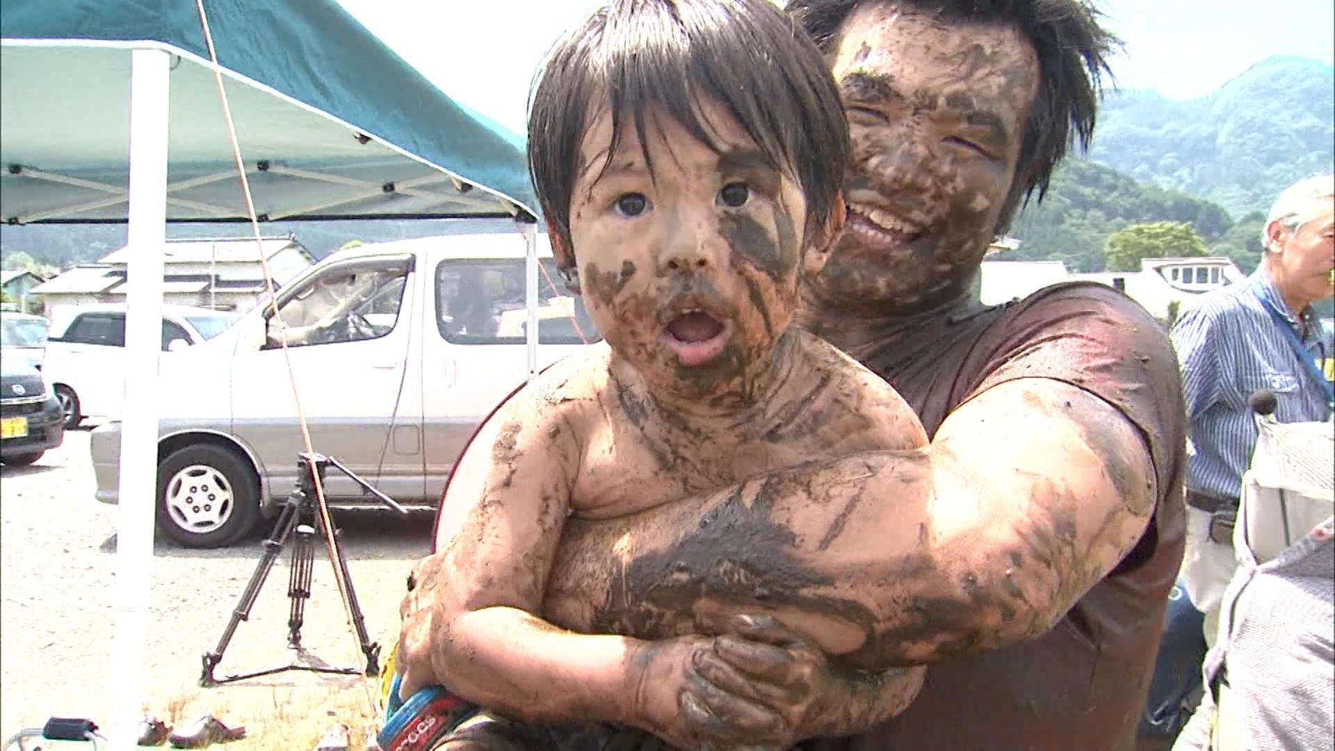 Get muddy, it's okay
