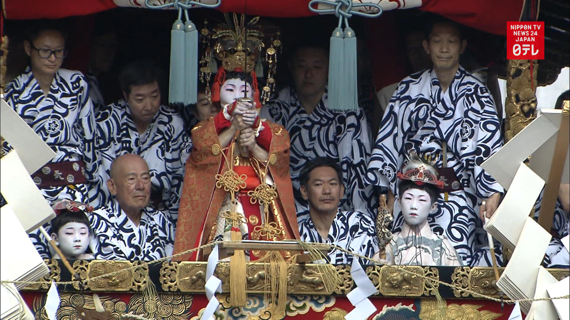 Gion festival climaxes in Kyoto