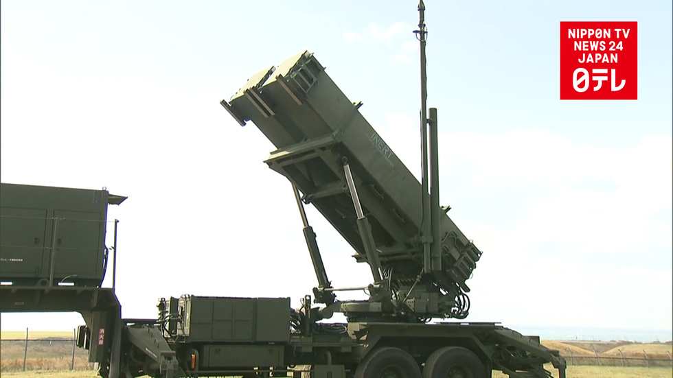 Japan deploys PAC-3 anti-missile system