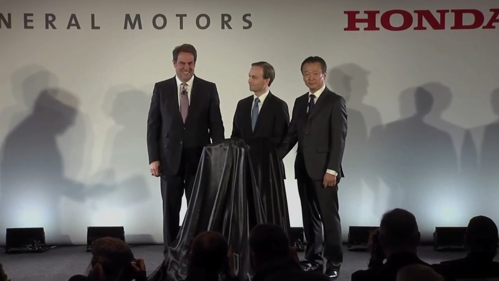 Honda and GM form joint US subsidiary