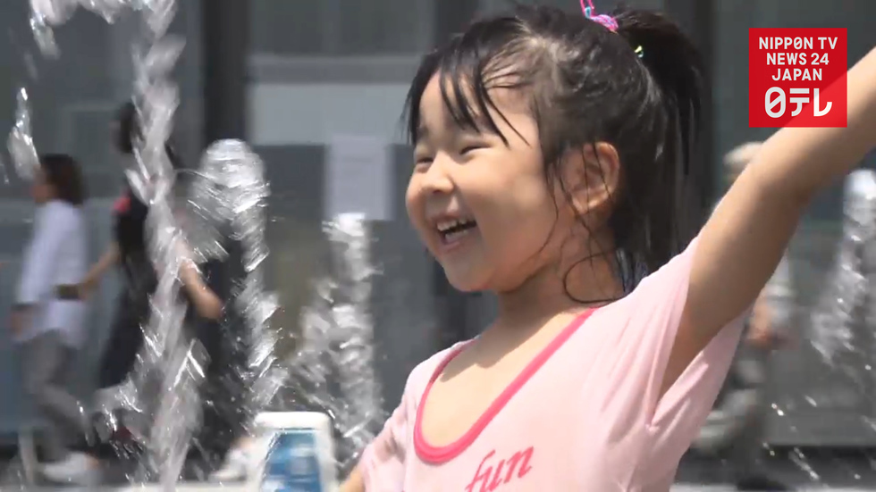 Four straight days of summer heat hit Tokyo