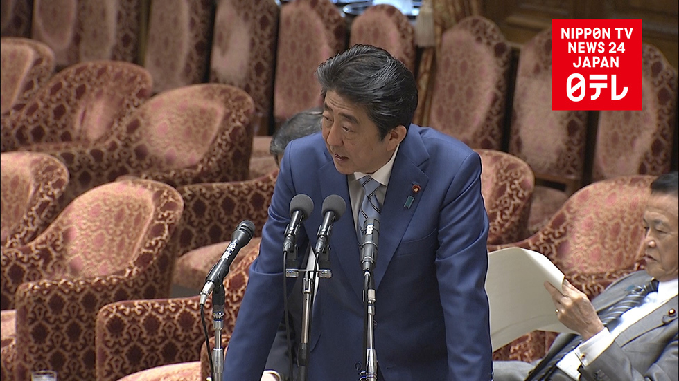 Abe denies intent to dissolve lower house