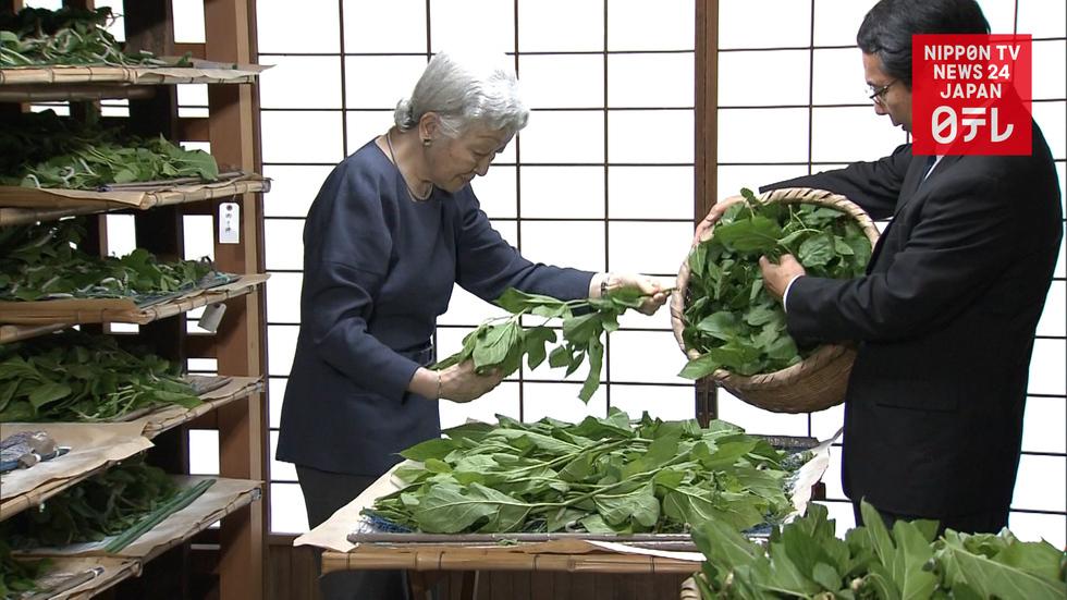 Empress Michiko's silk farming nears end