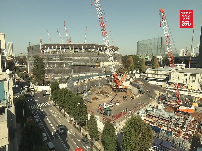 TIME-LAPSE: Tokyo Olympic Stadium 2