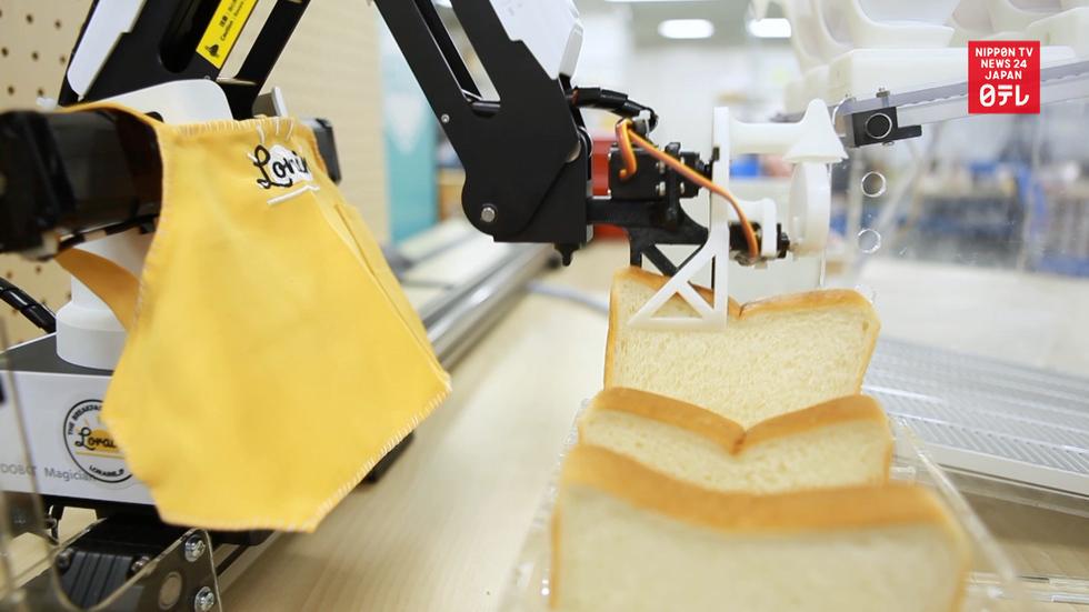Robot prepares perfect breakfast