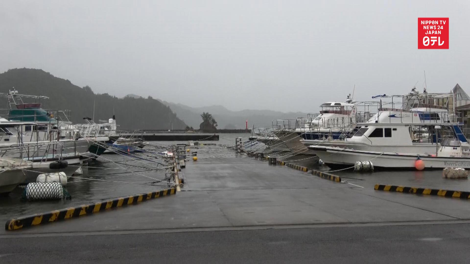 Flights, trains cancelled ahead of Super Typhoon Hagibis
