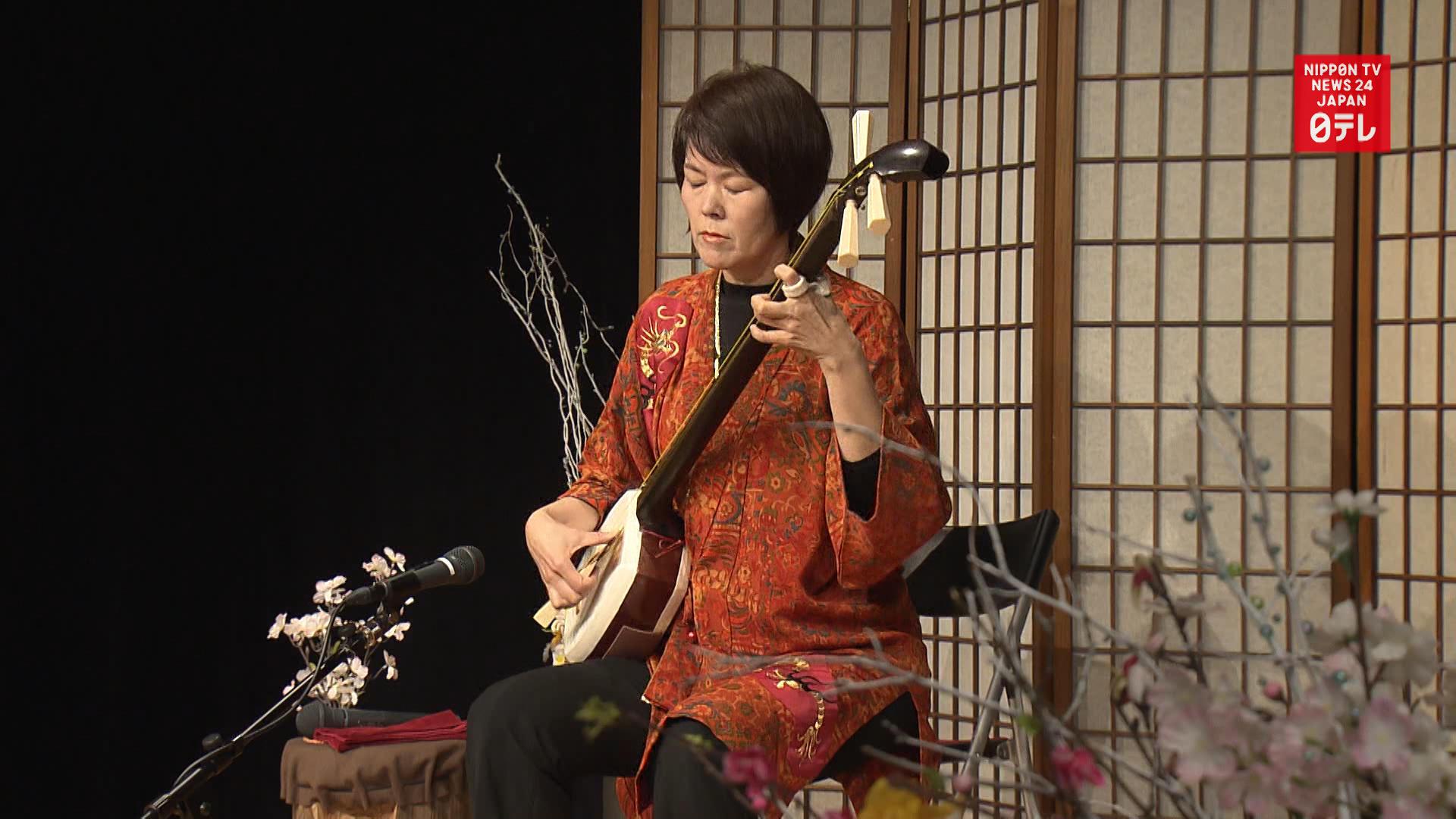 Shamisen, Tsugaru style