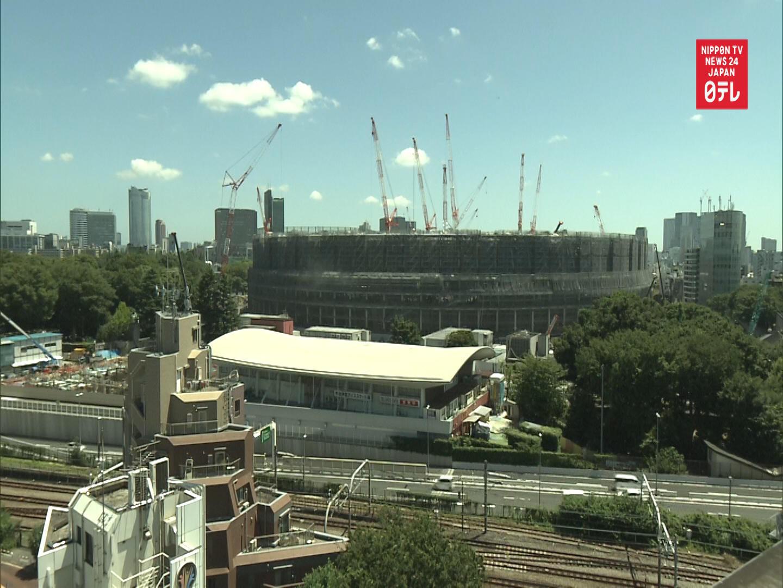 TIME-LAPSE: Tokyo Olympic Stadium 3